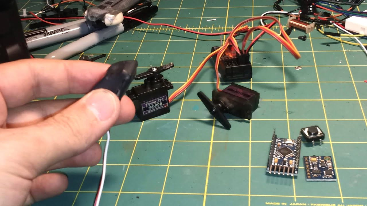 DIY Head Tracking  DIY $15 FPV head tracker