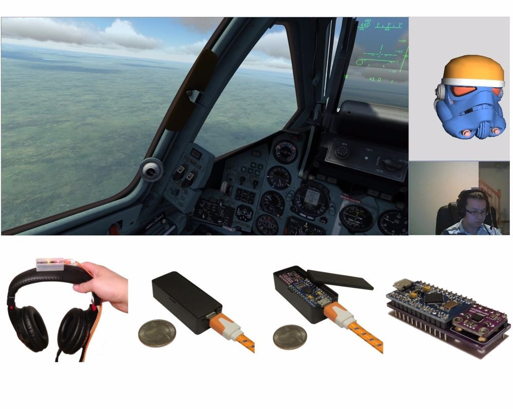 DIY Head Tracking  TrackIMU DIY Kit IMU Based Wearable Head Tracking for