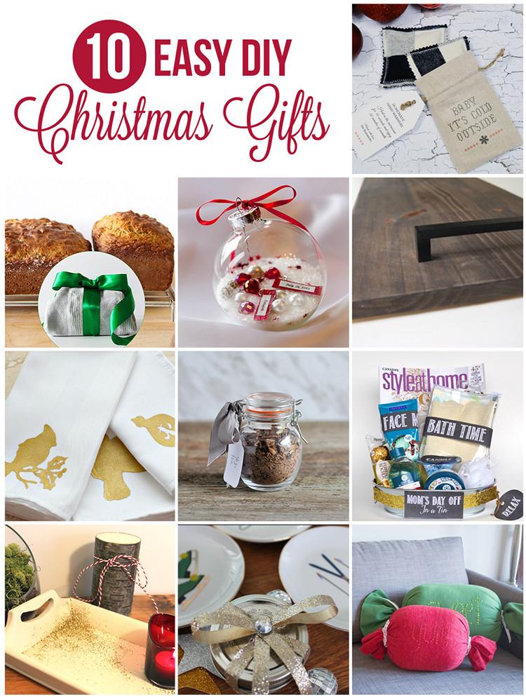 Diy Holiday Gift Ideas  DIY Christmas Gift Baking in Tea Towels