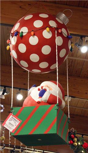 DIY Huge Ball Christmas Ornaments  Condo Blues How to Make Easy DIY Outdoor Giant Christmas