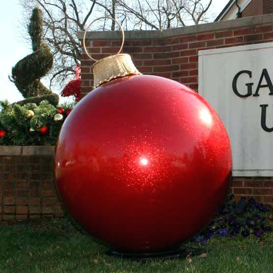 DIY Huge Ball Christmas Ornaments  Outdoor Christmas Balls Download Ball Ornaments Diy