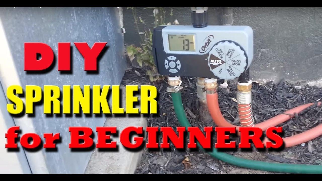 Best ideas about DIY Hydroseeding Kit . Save or Pin DIY Garden Hose Sprinkler system Now.