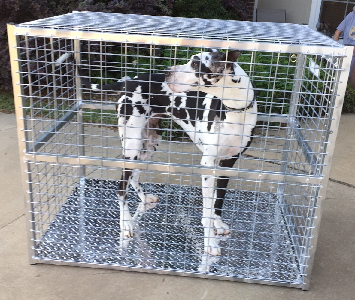 DIY Indestructible Dog Crate  Indestructible Dog Crate In Howling Crate Lifetime