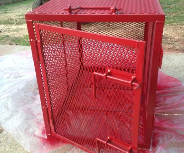 DIY Indestructible Dog Crate  Indestructible Dog Crate Uk In Peaceably Garden Design