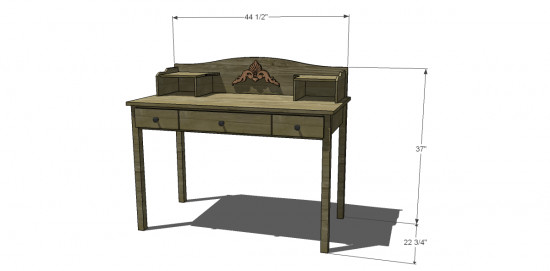Best ideas about DIY Kids Desk Plans . Save or Pin Free DIY Furniture Plans to Build a Pottery Barn Kids Now.