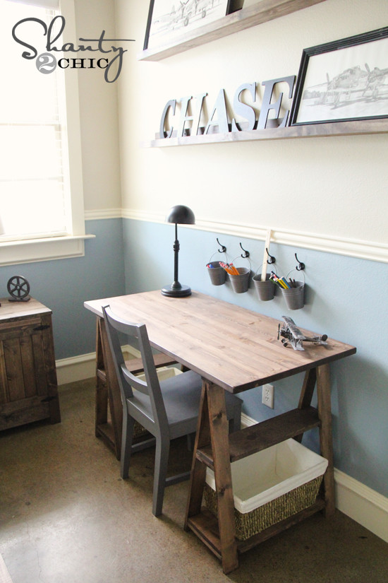 Best ideas about DIY Kids Desk Plans . Save or Pin Paint Colors Shanty 2 Chic Now.