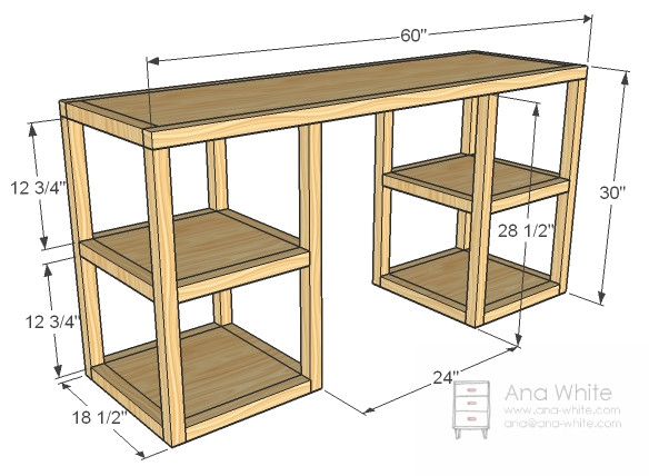 Best ideas about DIY Kids Desk Plans . Save or Pin 21 Ultimate List of DIY puter Desk Ideas with Plans Now.
