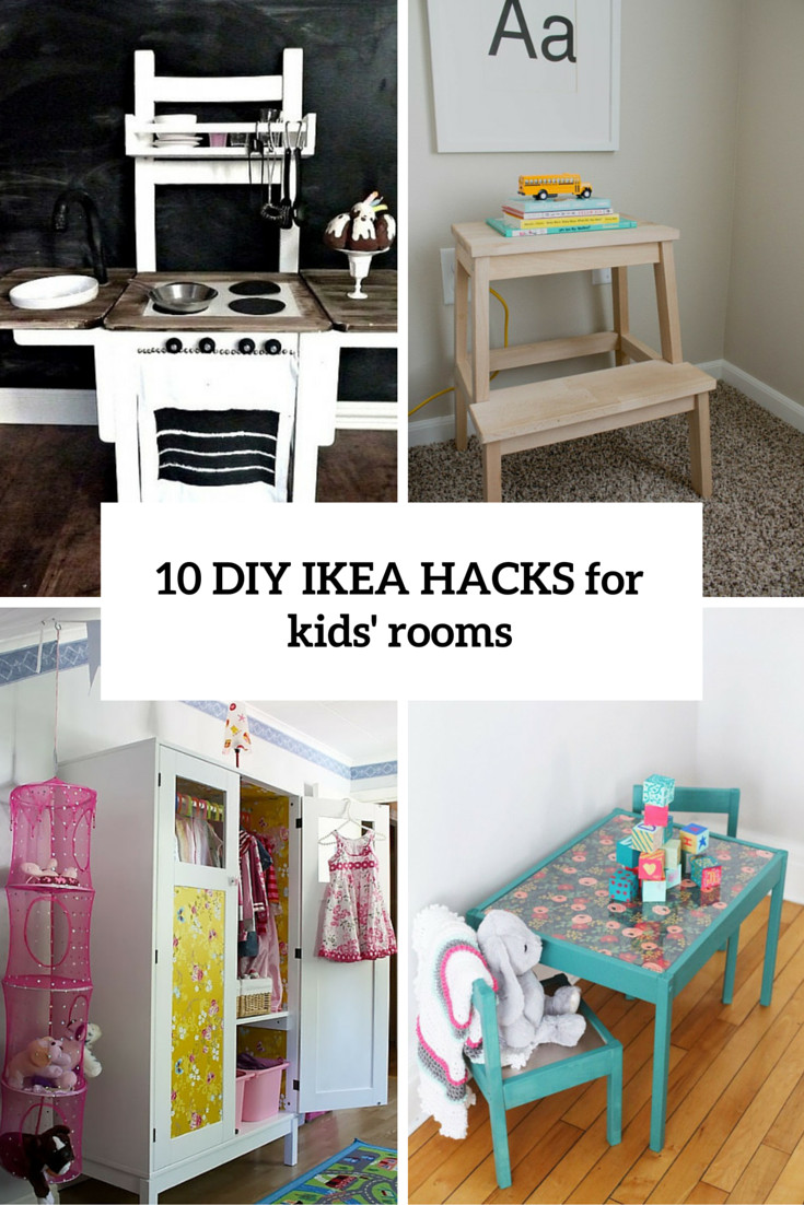 Best ideas about Diy Kids Room . Save or Pin 10 Awesome DIY IKEA Hacks For Any Kids' Room Shelterness Now.
