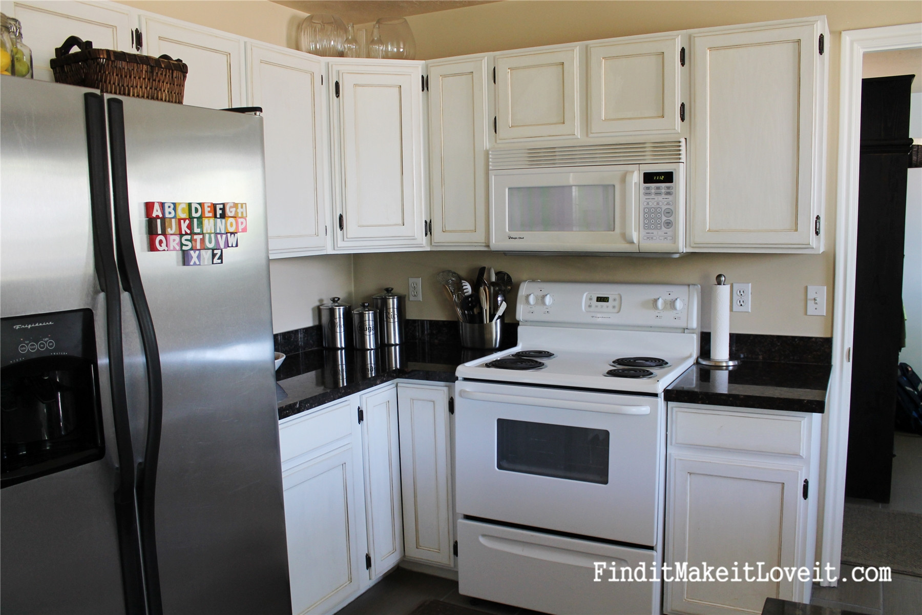 Best ideas about DIY Kitchen Cabinets Paint . Save or Pin $150 Kitchen Cabinet Makeover Find it Make it Love it Now.