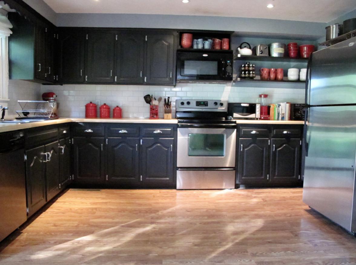 Best ideas about DIY Kitchen Cabinets Paint . Save or Pin Painting Kitchen Cabinets Diy 5 Now.