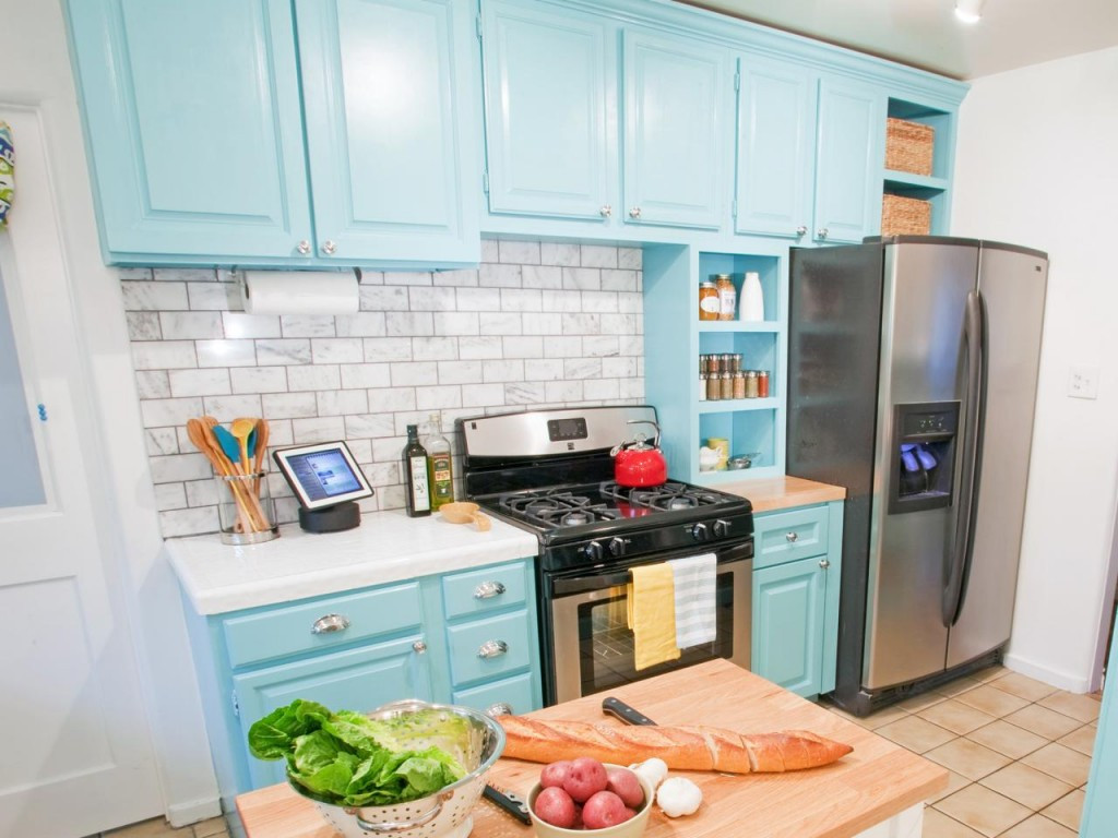 Best ideas about DIY Kitchen Cabinets Paint . Save or Pin Attractive DIY Painted Kitchen Cabinet Ideas Now.