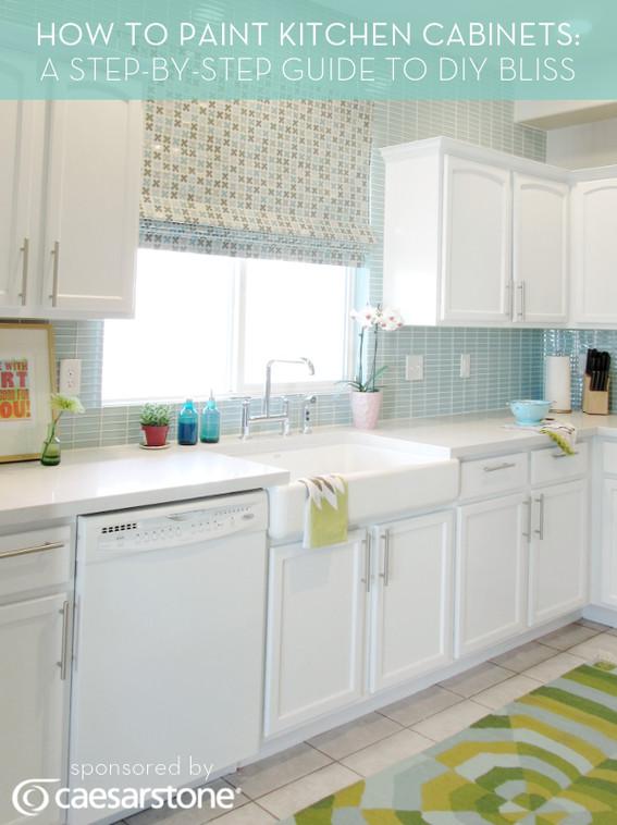 Best ideas about DIY Kitchen Cabinets Paint . Save or Pin 10 Best DIY Kitchen Improvement Tutorials Tutorials Press Now.