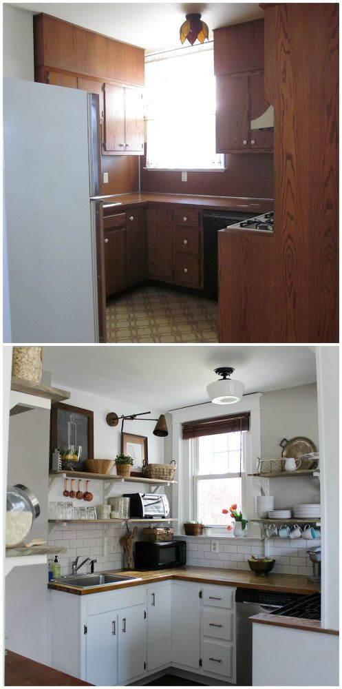 Best ideas about Diy Kitchen Ideas On A Budget . Save or Pin DIY Kitchen Remodel on a Tight Bud in 2019 Now.