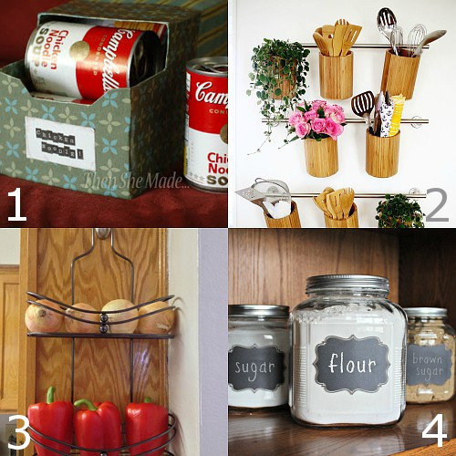 Best ideas about DIY Kitchen Organization Ideas . Save or Pin 24 DIY Kitchen Organization Ideas Now.