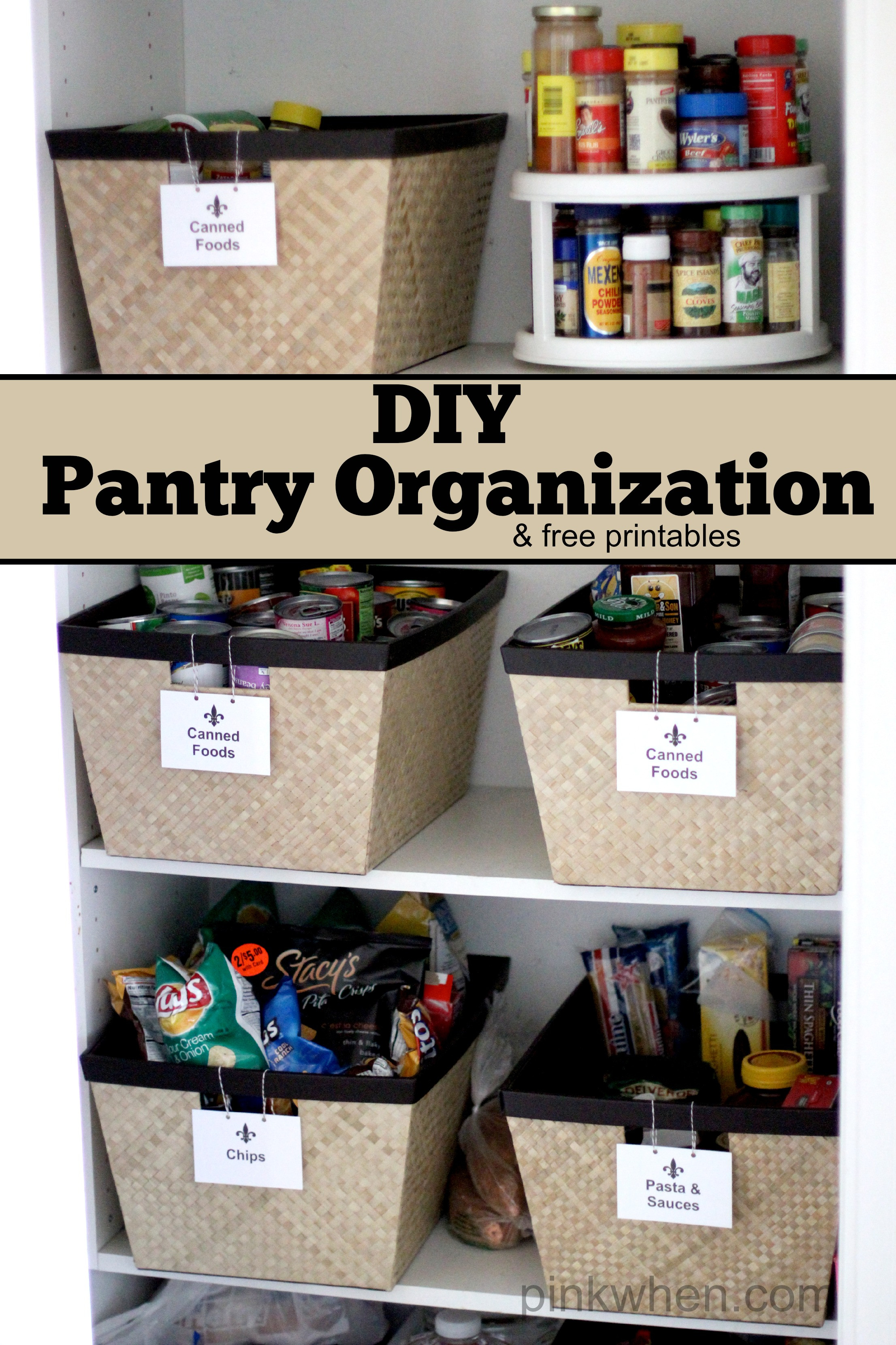 Best ideas about DIY Kitchen Organization Ideas . Save or Pin Pantry Organization Page 2 of 2 Blooming Homestead Now.