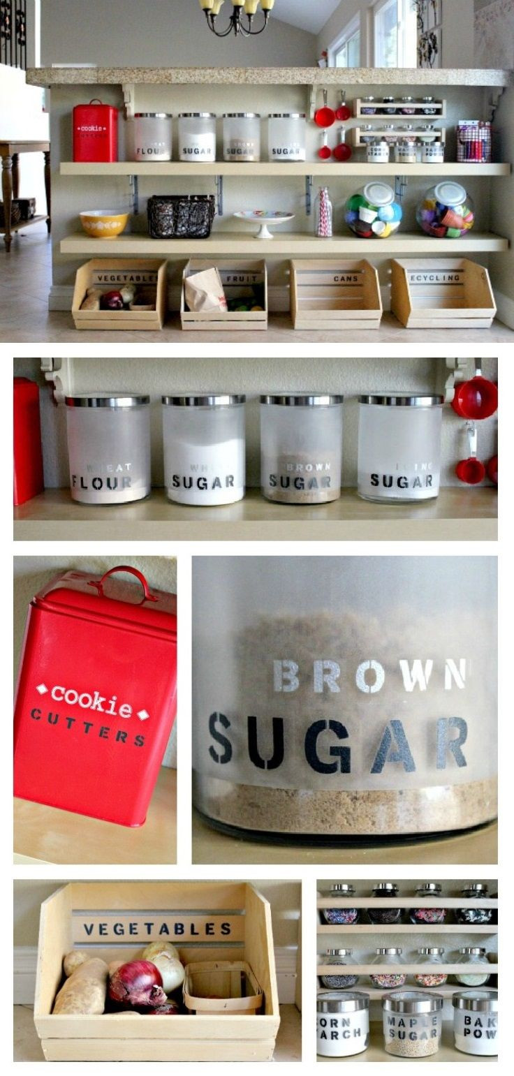 Best ideas about DIY Kitchen Organization Ideas . Save or Pin 10 Attractive and Simple DIY Kitchen Organizing And Now.