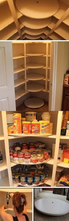 Best ideas about DIY Kitchen Organization Ideas . Save or Pin 13 DIY Ideas for Kitchen Storage 10 Diy & Home Now.