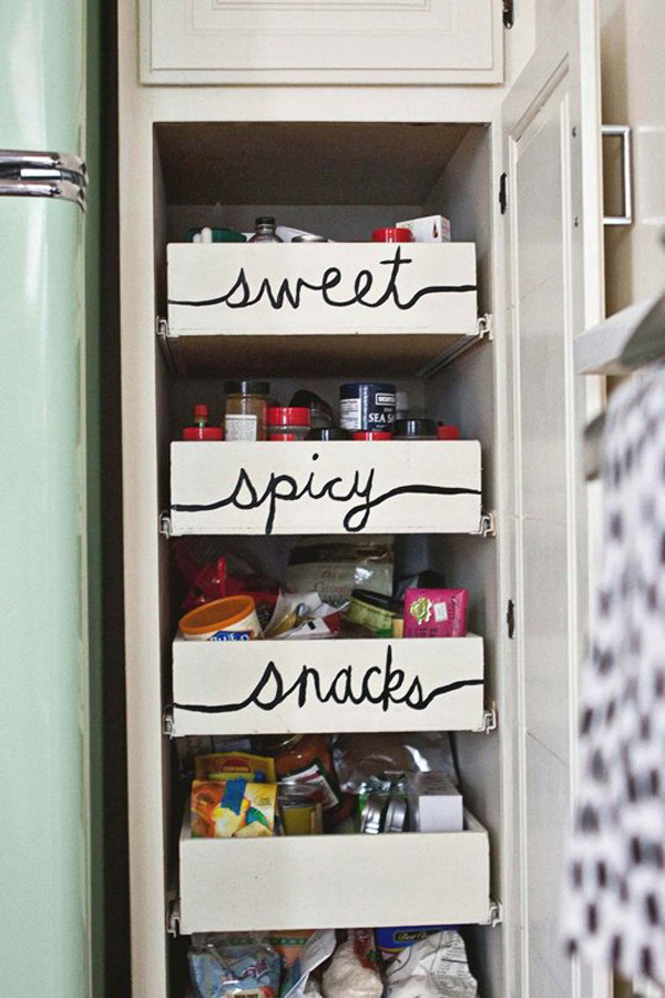 Best ideas about DIY Kitchen Organization Ideas . Save or Pin 10 DIY Kitchens Organization Now.