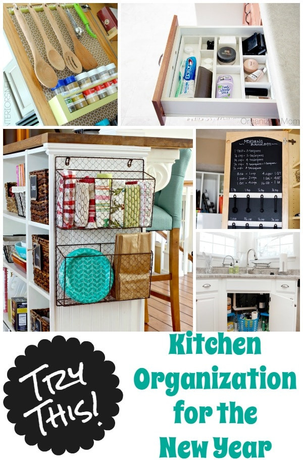 Best ideas about DIY Kitchen Organization Ideas . Save or Pin 36 Tips for Getting Organized in 2016 Four Generations Now.