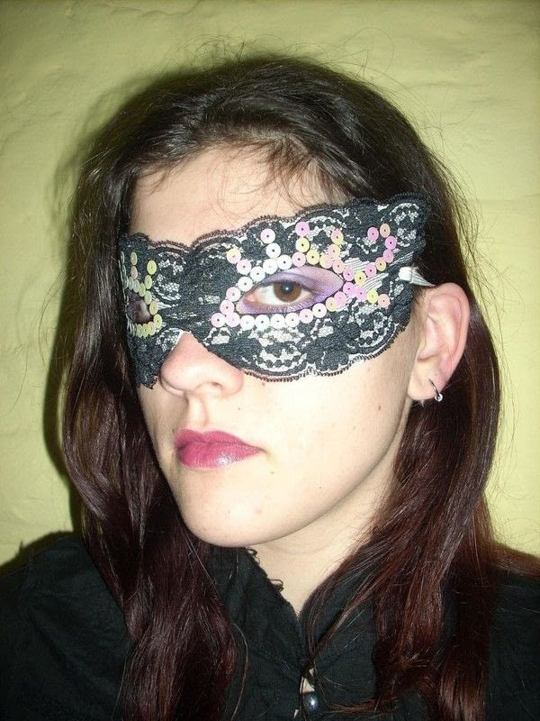 Best ideas about DIY Lace Masquerade Mask . Save or Pin Lace Eye Mask · How To Make A Masquerade · Decorating on Now.