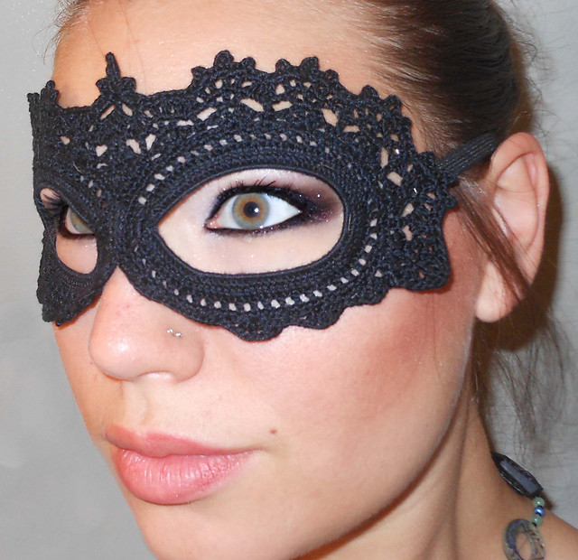 Best ideas about DIY Lace Masquerade Mask . Save or Pin Knit & Crochet Friday fiber fabulous Halloween Stitch Now.