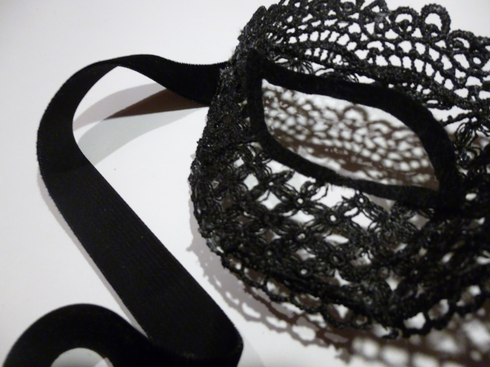 Best ideas about DIY Lace Masquerade Mask . Save or Pin SickChick DIY Lace Masquerade Mask Now.