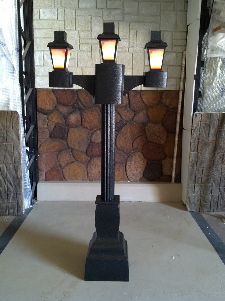 Best ideas about DIY Lamp Post . Save or Pin diy lamp post Lamps and lighting Now.