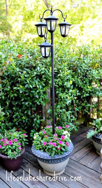 Best ideas about DIY Lamp Post . Save or Pin LED Solar Light Lamp Post Life on Lakeshore Drive Now.