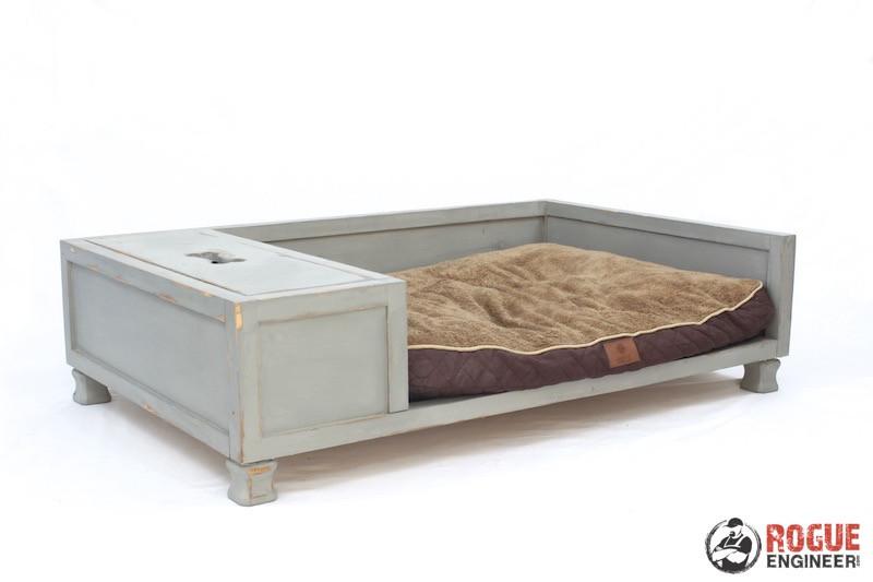 DIY Large Dog Beds  DIY Dog Bed Plans Rogue Engineer