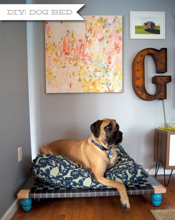 DIY Large Dog Beds  Easy and Affordable DIY Dog Bed Ideas HomeStyleDiary
