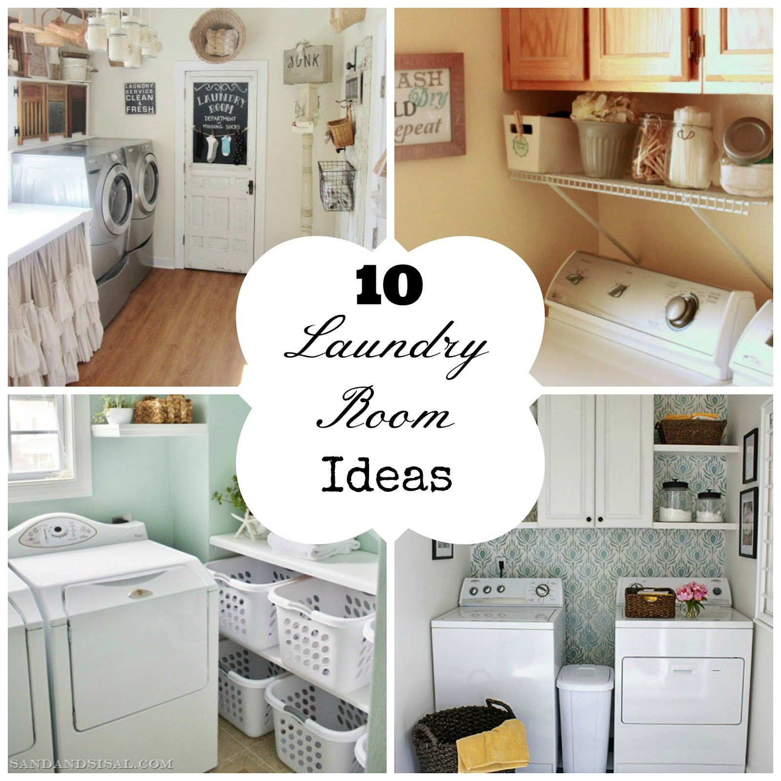 Best ideas about Diy Laundry Room Ideas . Save or Pin 10 Laundry Room Ideas Now.