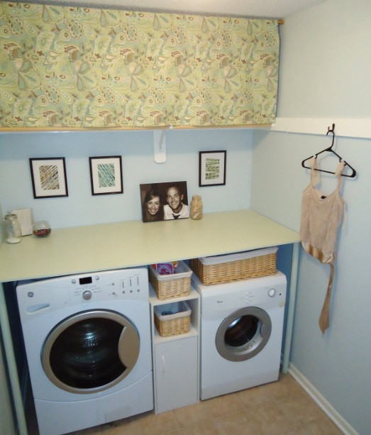 Best ideas about Diy Laundry Room Ideas . Save or Pin diy laundry basket for organizing laundry room and decor Now.