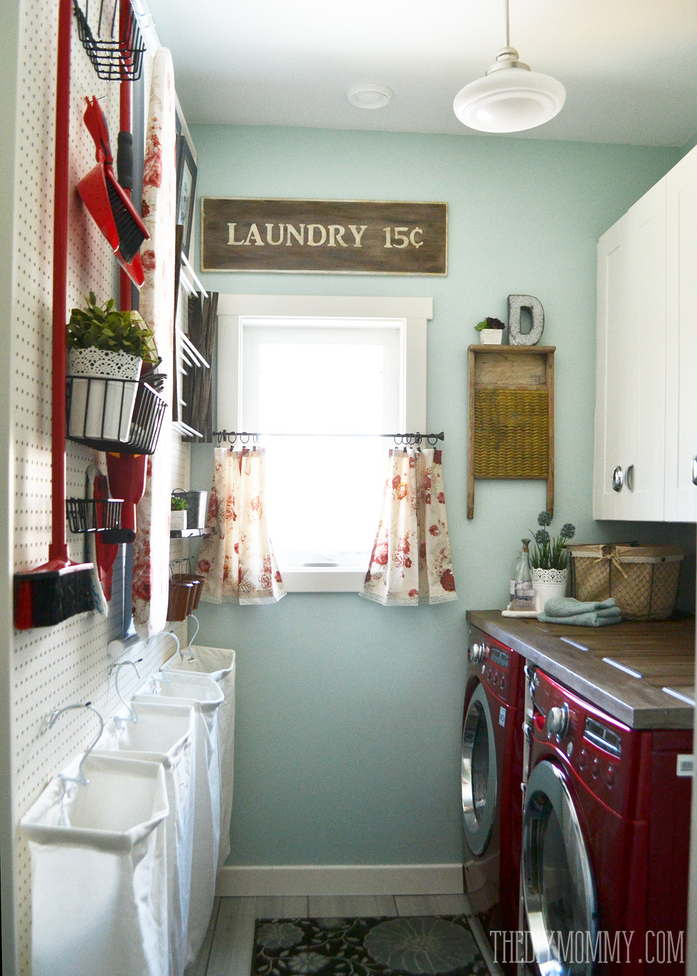 Best ideas about Diy Laundry Room Ideas . Save or Pin 2016 Home Tour Our DIY House Now.