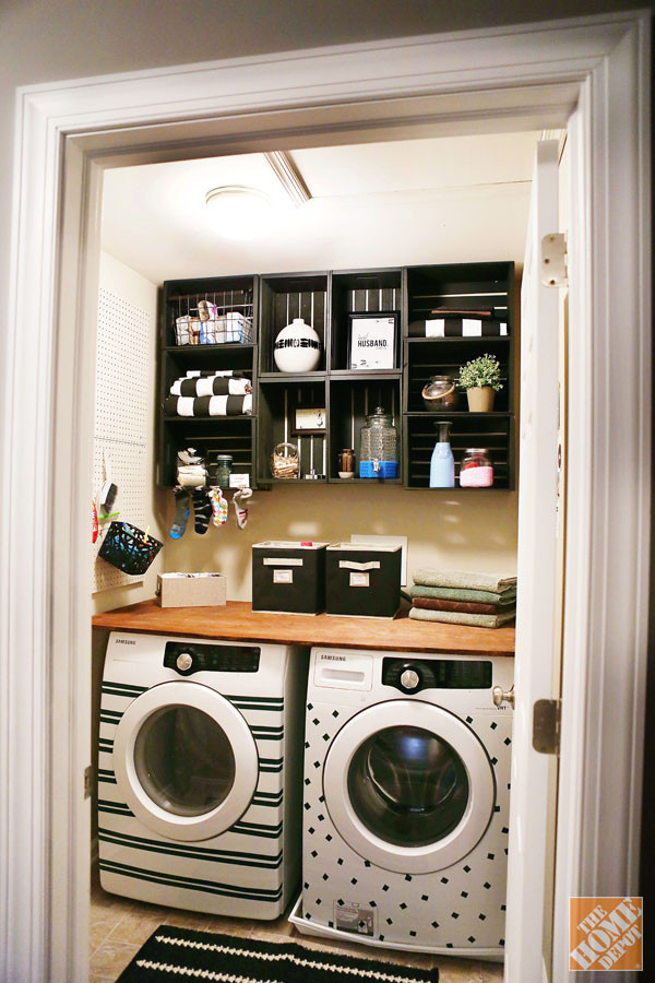Best ideas about Diy Laundry Room Ideas . Save or Pin 25 Small Laundry Room Ideas Now.