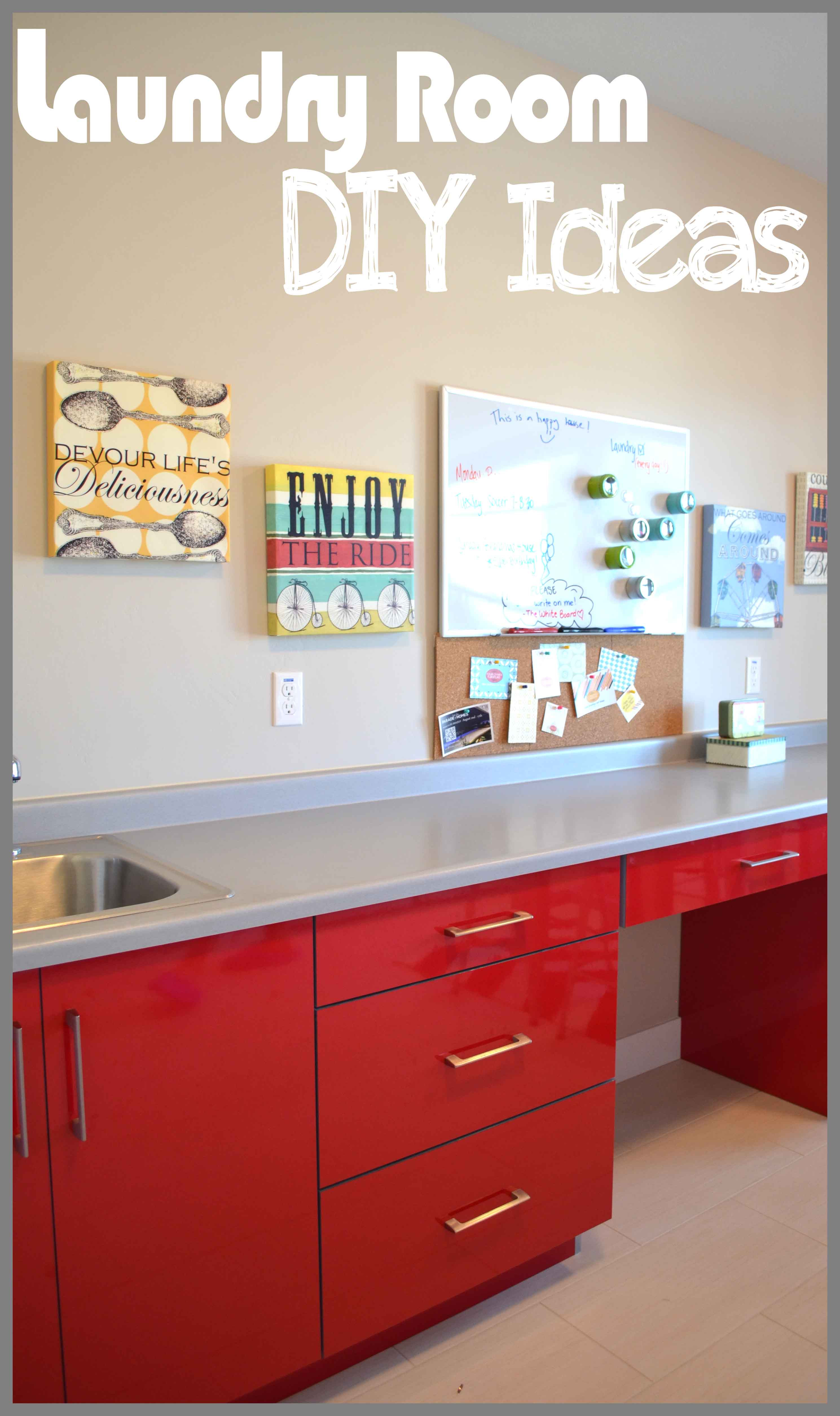 Best ideas about Diy Laundry Room Ideas . Save or Pin Laundry Room DIY Projects Now.