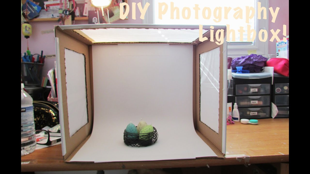 DIY Light Box Photography  How To DIY Light Box