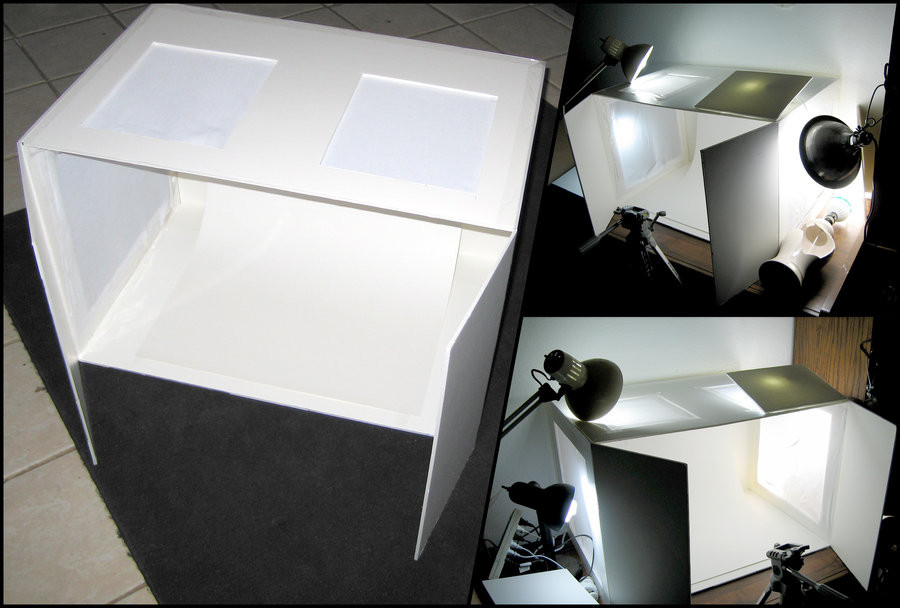 DIY Light Box Photography  DIY Light Box Setup by Azmal on DeviantArt