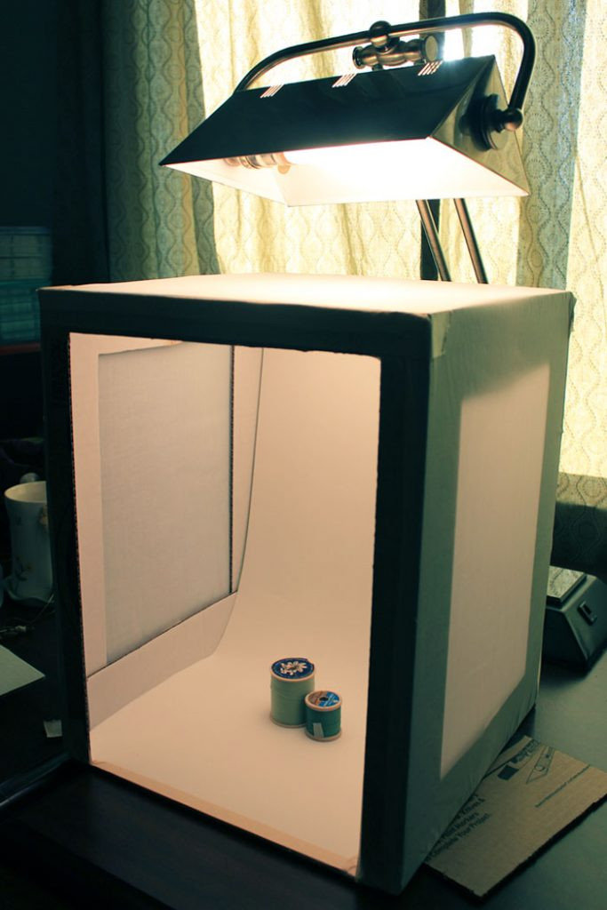 DIY Light Box Photography  Craftionary