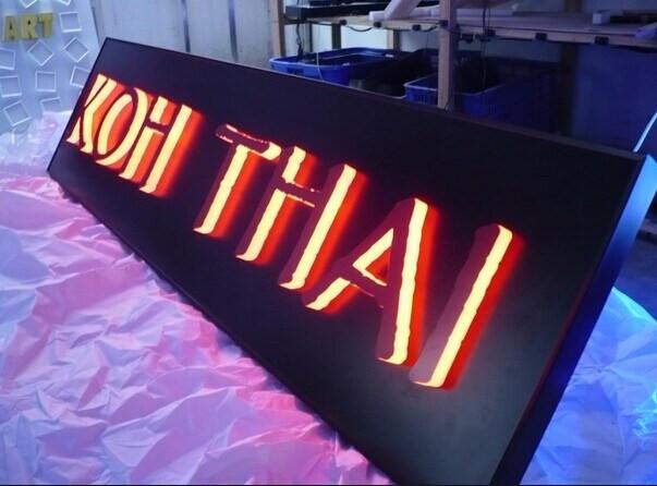 Best ideas about DIY Light Box Sign . Save or Pin China DIY LED Backlit Channel Letter Sign LED Letter Sign Now.
