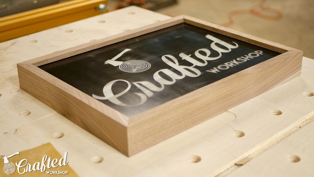 Best ideas about DIY Light Box Sign . Save or Pin How To Build A DIY Light Box Sign with LASERS — Crafted Now.