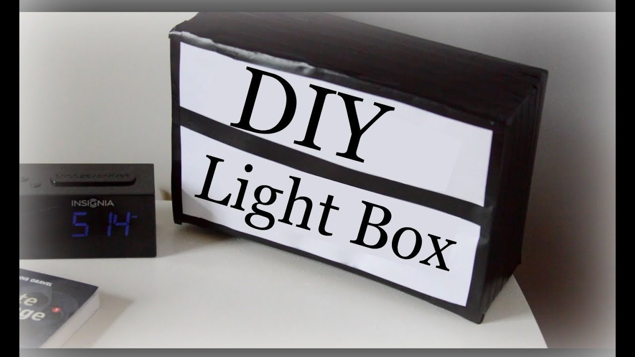 Best ideas about DIY Light Box Sign . Save or Pin DIY Light Box Sign Now.