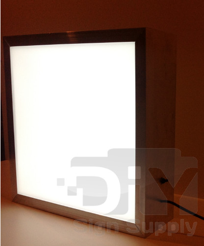 Best ideas about DIY Light Box Sign . Save or Pin DIY Sign Supply Lighted Sign Box Kits for Sale Outdoor Now.
