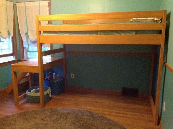 Best ideas about DIY Loft Bed With Stairs . Save or Pin How to build a loft bed with stairs Now.