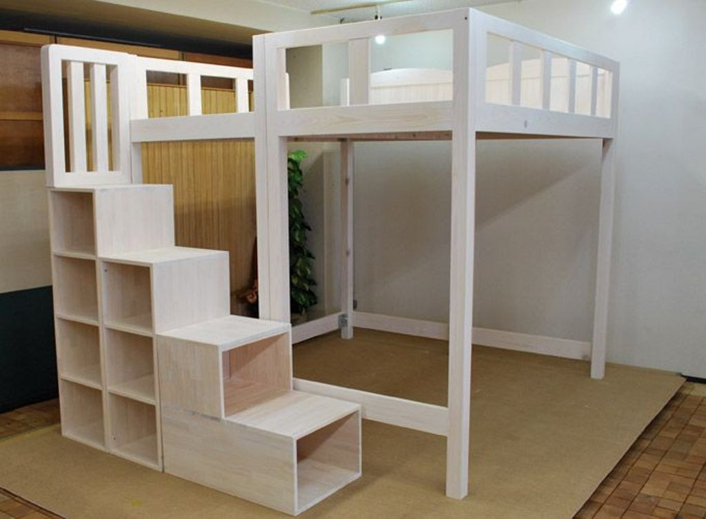 Best ideas about DIY Loft Bed With Stairs . Save or Pin DIY Loft Bed With Stairs Ideas DIY Loft Bed With Stairs Now.