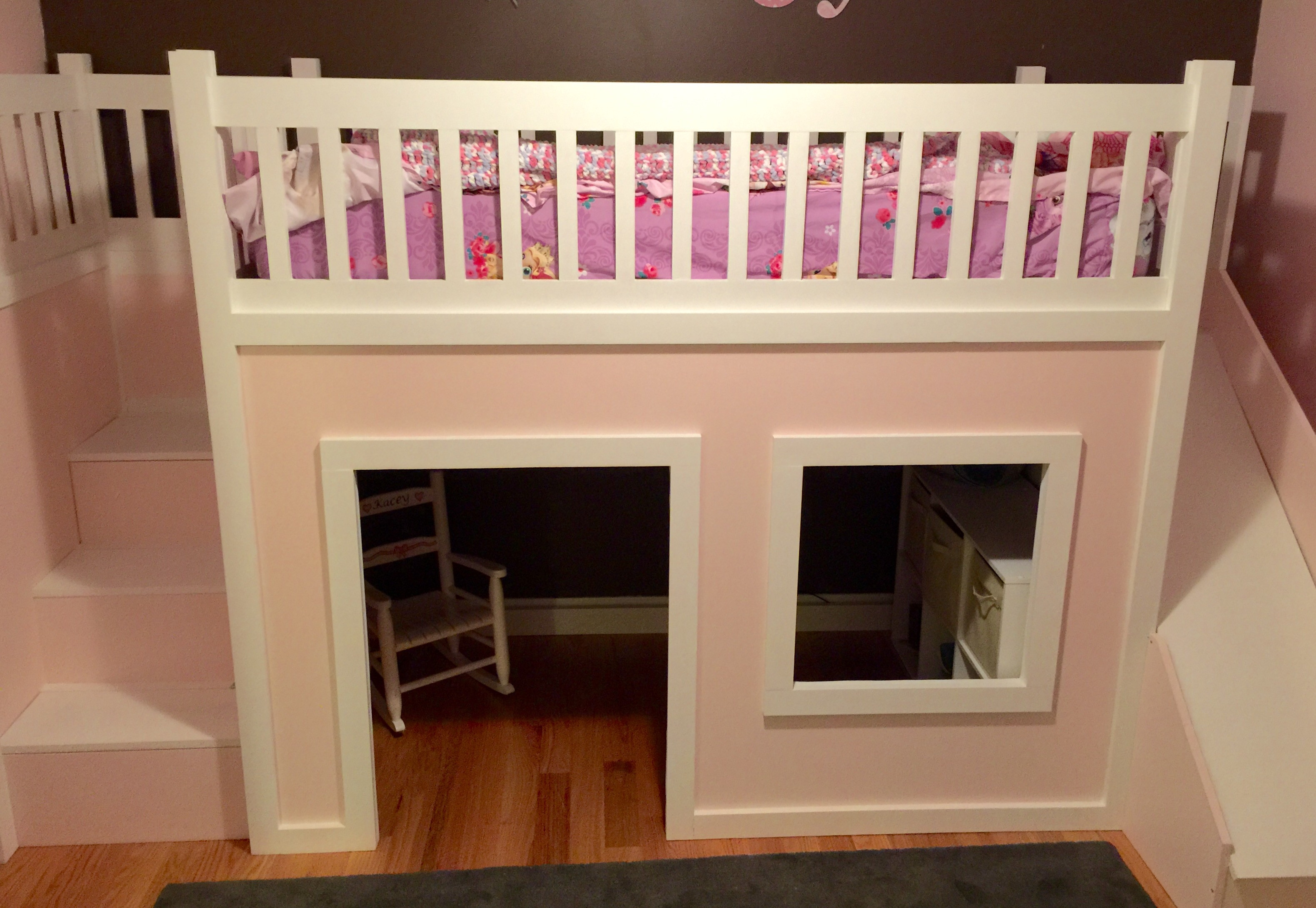 Best ideas about DIY Loft Bed With Stairs . Save or Pin Ana White Now.