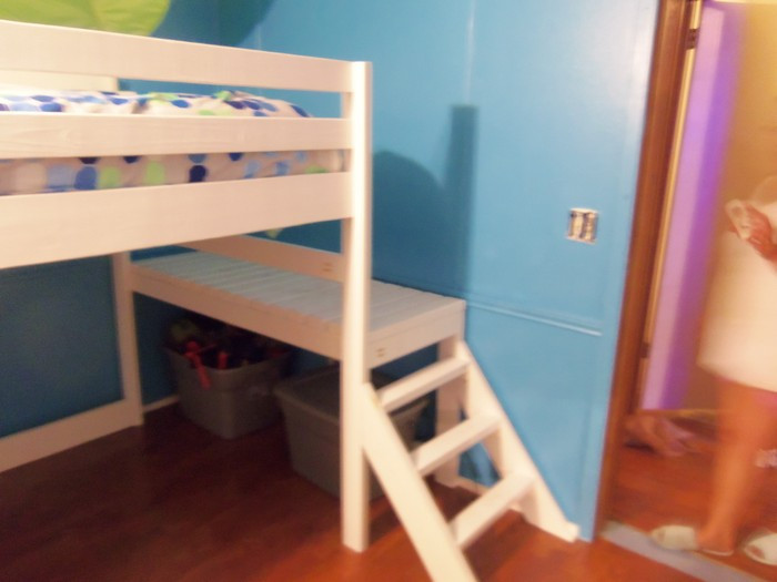 Best ideas about DIY Loft Bed With Stairs . Save or Pin Build your kids a loft bed with stairs Now.