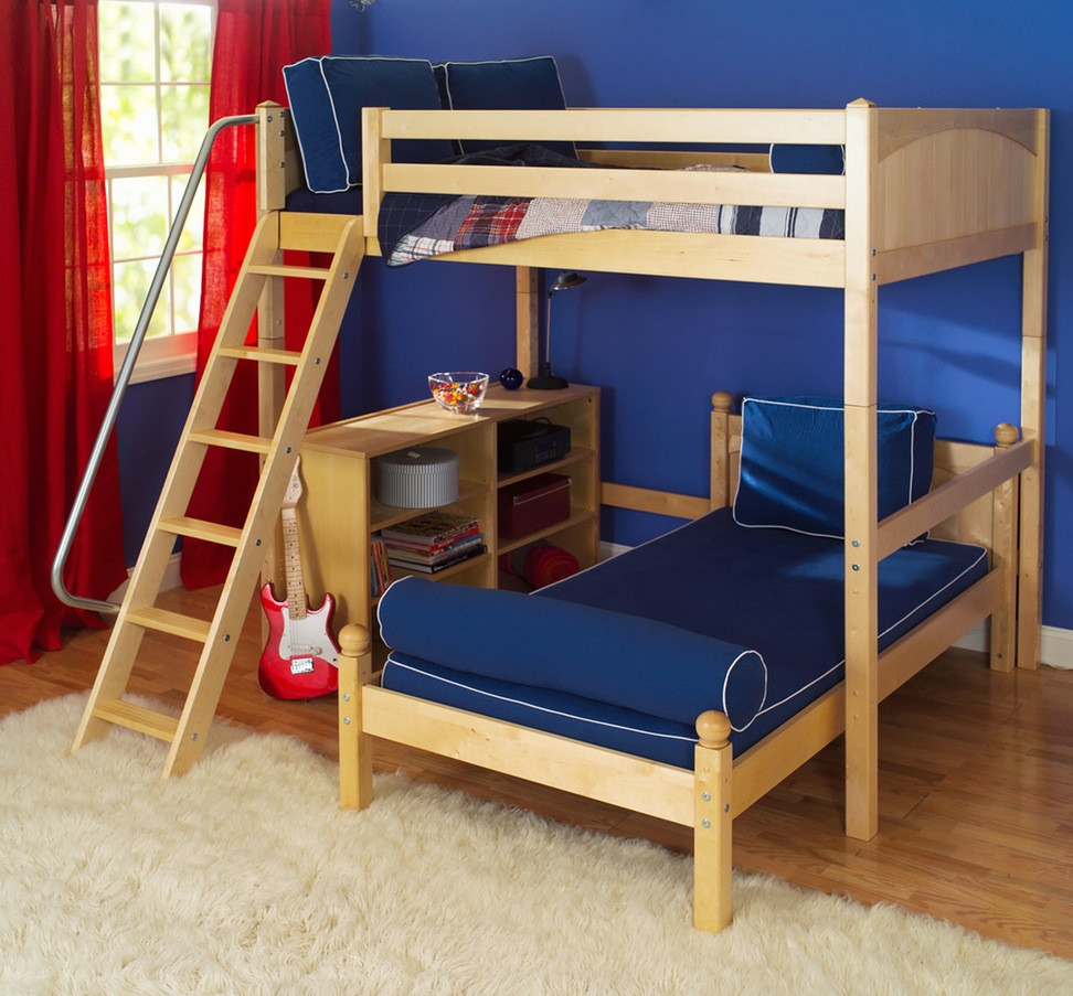 Best ideas about DIY Loft Bed With Stairs . Save or Pin DIY Loft Bed with Stairs Storage Ideas – Home Improvement 2017 Now.