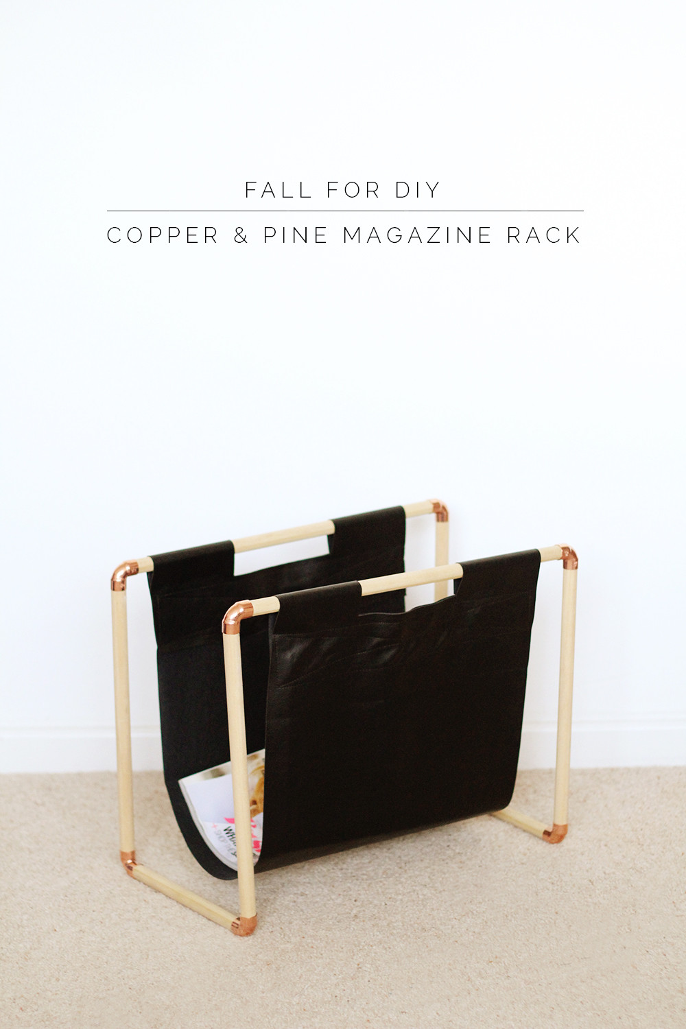 Best ideas about DIY Magazine Rack . Save or Pin BHG Style Spotters Now.