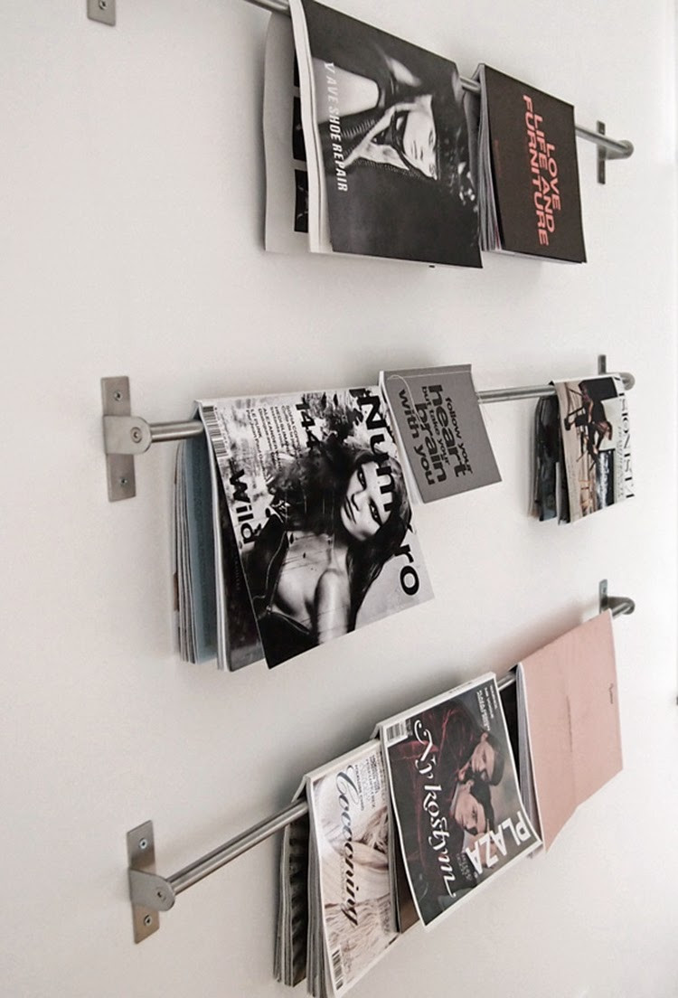 Best ideas about DIY Magazine Rack . Save or Pin DIY Monday Magazine storage Ohoh Blog Now.