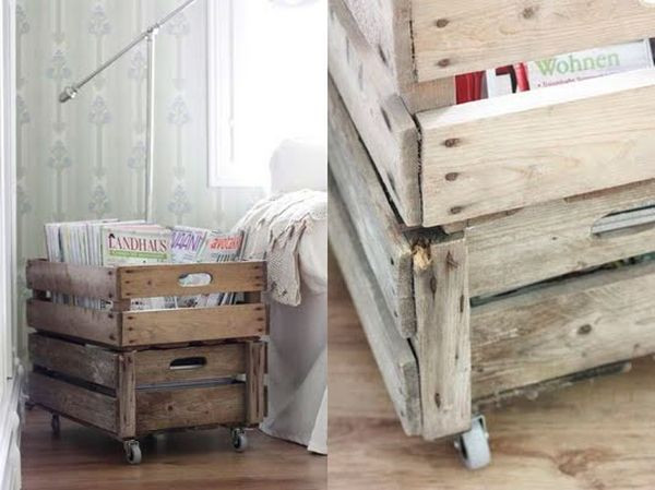 Best ideas about DIY Magazine Rack . Save or Pin 20 DIY Magazine Rack Projects Now.